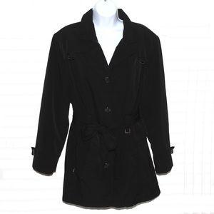 Very nice ladies black trench coat