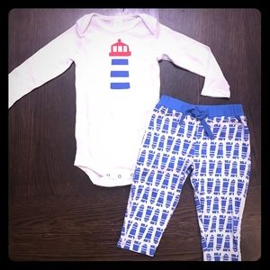 Nordstrom Baby Other - Nordstrom Baby Lighthouse Set