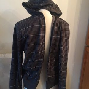 O'Neill Other - Comfy strip sweater zipper and hoodie