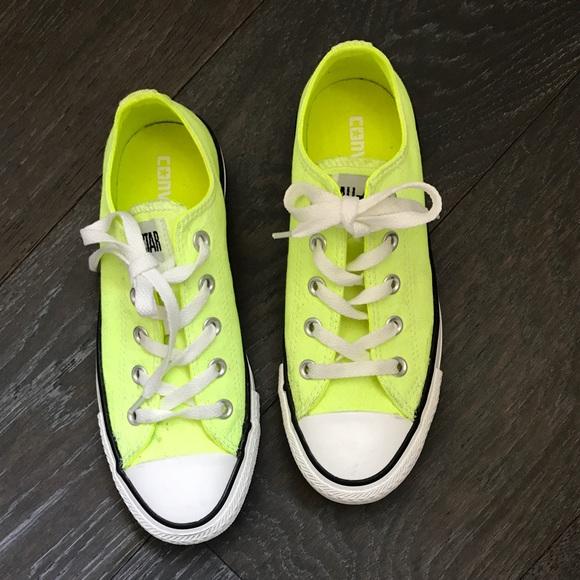 30d0f2b67ca4 Converse Shoes - CONVERSE ALL STAR NEON YELLOW GREEN MENS 5WOMENS 7