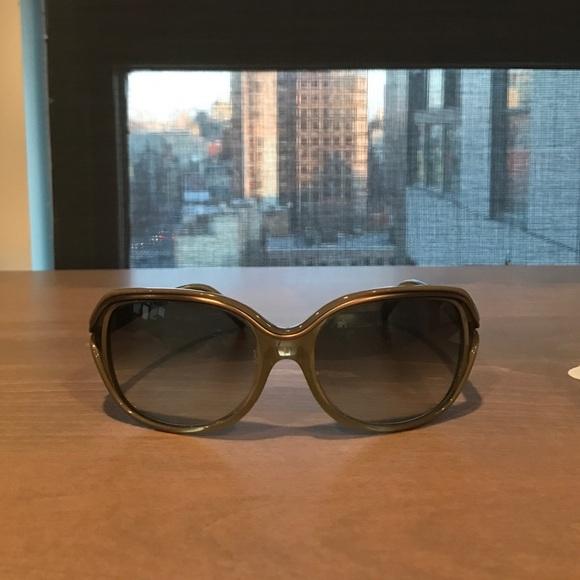 43388eb40f1b Chloe Sunglasses - Olive Green Acetate Frames