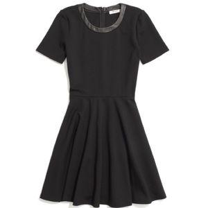 Madewell Dresses & Skirts - 30%OFF BUNDLE Madewell Ponte Leather Trim DressEUC
