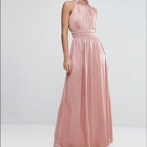 Little Mistress Dresses & Skirts - Little mistress pink maxi dress Size 10