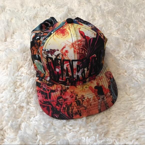 ea0e9bb7a Marvel Flat Bill Hat