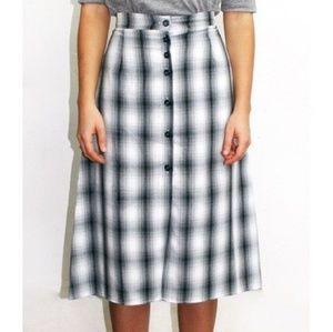 Dresses & Skirts - NOT 4 SALE🇱🇷PLAID Check MIDI SKIRT