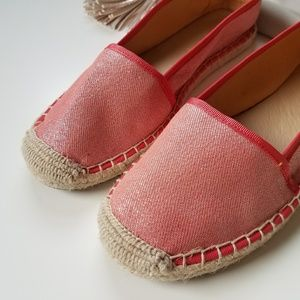 Franco Sarto Shoes - Franco Sarto L-Whip Women Coral Espadrille