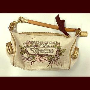 Coach Tattoo Legacy clutch purse pouchette