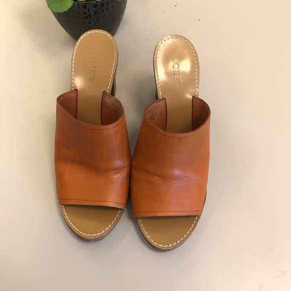0d42219628428 ... wedge flip flops later 5e558 b03bc  J.crew leather mules release info  on df57e 76659 ...