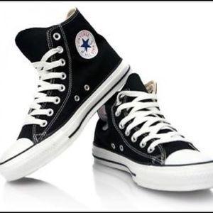 [Converse] Black High Top Chuck Taylor All Star