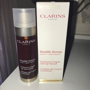 Other - Clarins Double serum 50.ml NEW
