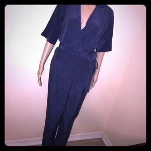 Diane von Furstenberg Pants - 100% silk Pants jumpsuit