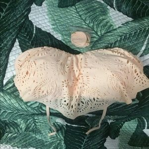 Xhilaration Other - Nwt hanky lace swim wear top