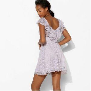 Kimchi Blue Dresses & Skirts - Kimchi Blue Purple Lace Valencia Dress
