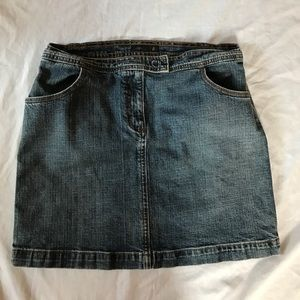 J. Crew Denim Skirt