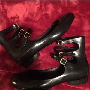 Melissa Shoes - Vintage Melissa Gladiator Style Flats!🌹