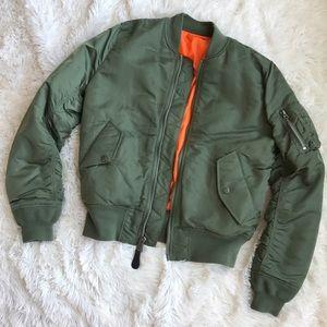alpha industries Jackets & Blazers - ⚡SALE⚡Alpha Industries MA-1 bomber jacket