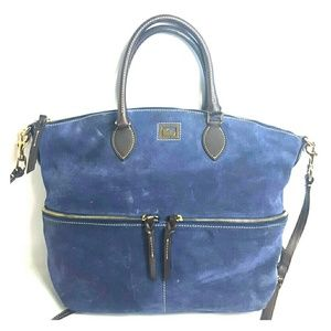 Dooney & Bourke Handbags - Dooney and Bourke Crossbody/shoulder bag suede