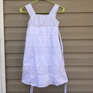 My Michelle Other - My Michelle girls white sleeveless dress