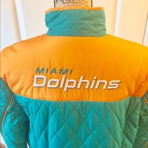 NWT Miami Dolphins Jacket Size XL