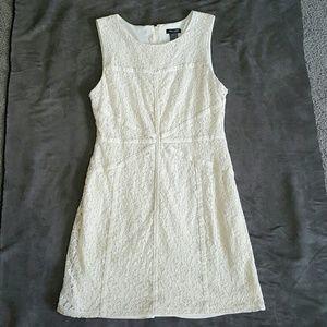 Bisou Bisou Dresses & Skirts - Cream lace dress