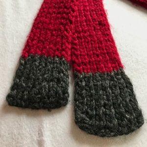 Handmade Accessories - Hand knit scarf.