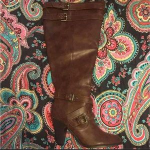 Brand new JustFab size 9 brown boots