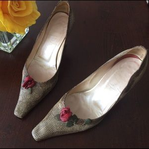 Saks Fifth Avenue Shoes - Rene Caovilla vintage heels