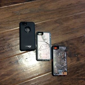 OtterBox Other - iPhone 6/6s Otterbox Cases (barely used)