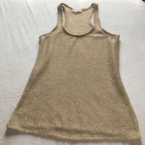 Sugar Lips sequin tank top.