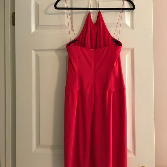 68 off maggy london dresses skirts sale coral halter for Jewelry to wear with coral dress