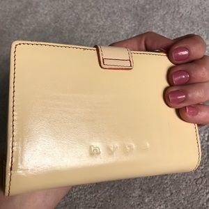 Hype Handbags - HYPE cream leather wallet