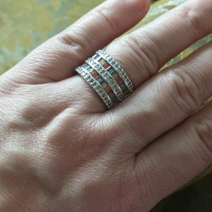 Jewelry - Sterling silver gemstone ring