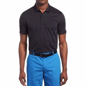 Nike Other - Men's Nike Black Dri Fit Polo