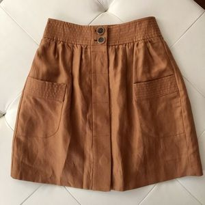 J.Crew A-line mini skirt