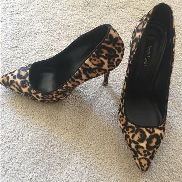 86f7d87641c5 White House Black Market leopard Olivia Pumps. M_58ed0f5a4e95a3cb1e06efd3