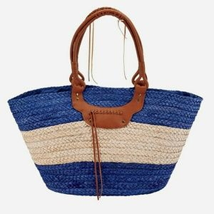 Large Paper Straw Tote