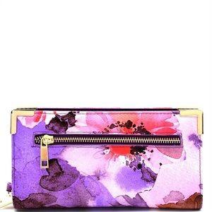 Handbags - Beautiful Purple Flower 🌺 Wallet