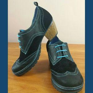 Jambu Shoes - Jambu San Fran Heeled Oxford Pump