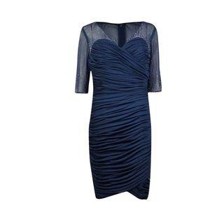 Alex Evenings Dresses & Skirts - NWT ALEX EVENINGS Navy Embellished Dress SZ 16