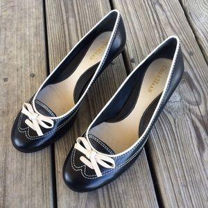 Cole Haan Shoes - Cole Haan Oxford Kitten Heels 7