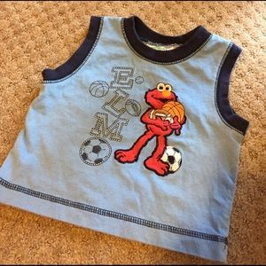 Sesame Street Other - ELMO sports blue tank top shirt