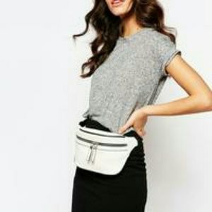 New Look Handbags - White faux leather bum bag