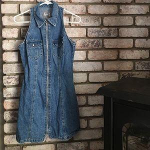 Paris Blues Dresses & Skirts - Denim Zip Up Dress