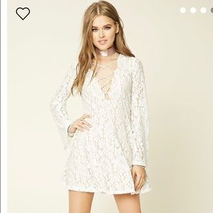 Forever21 lace dress L