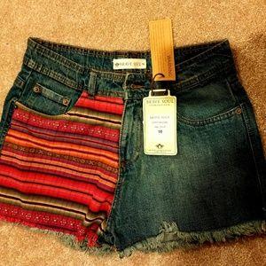 Brave Soul Pants - Brave Soul Denim Shorts