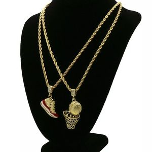 Other - 24 inch Gold Plated Retro 11 Rope Chains