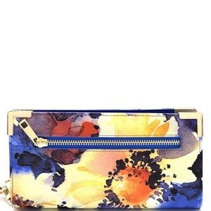 Handbags - 🌺Blue Floral 🌺 Wallet