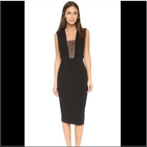 Solace London Dresses & Skirts - Solace London Mesh Inset Cocktail Dress