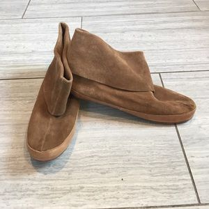 OluKai Shoes - Olukai Leather/Suede Ankle Bootie/Moccasins
