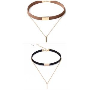 Jewelry - NEW Velvet & Chain Choker